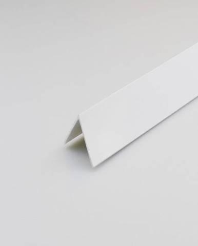 Rohový Profil PVC Bílý Satén 7x7x1000
