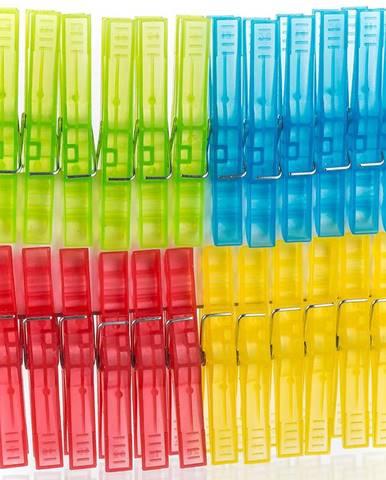Plastové kolíčky economy 24 ks