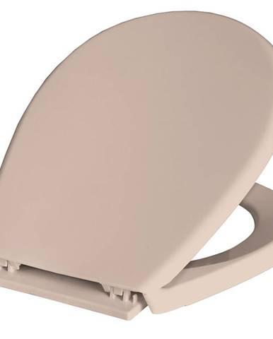WC sedátko Lilia béžový
