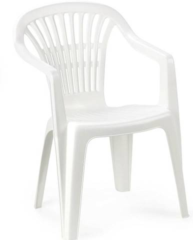 Židle plastová Scilla bílá