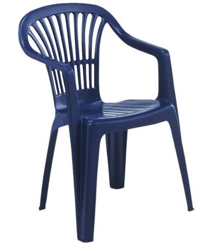 Židle plastová Scilla modrá