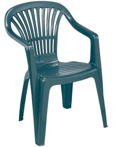 Židle plastová Scilla zelená