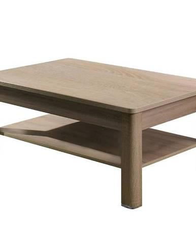 Konferenční stolek Fill 114 cm, dub sonoma / grafit