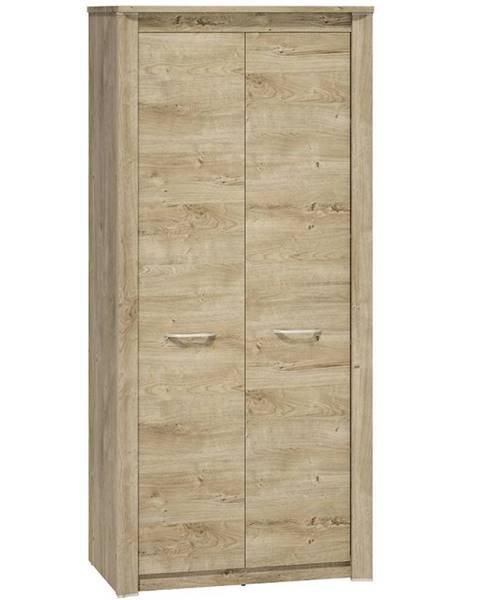 BAUMAX Skříň Luis 01 92cm Dub Ribbeck