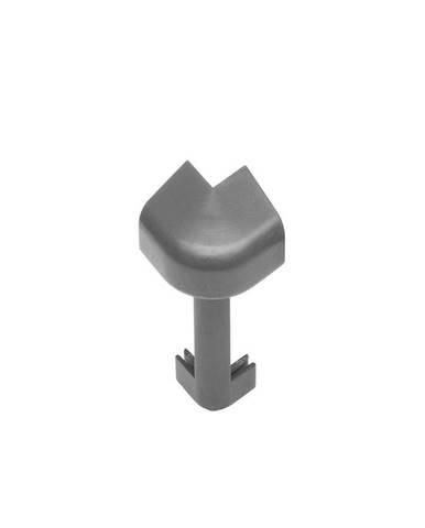 Rohová spojka vnější1ks NWO 106 tmavě šedý