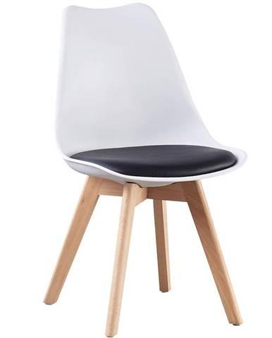 Židle Havana Bílá s Černou