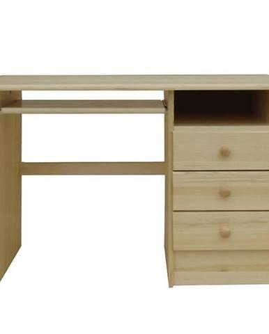 Psací Stůl 115cm Borovice