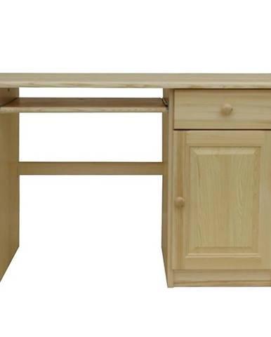 Psací Stůl 155cm Borovice
