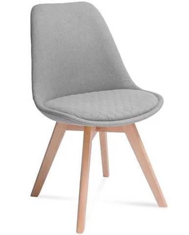 Židle Hugo Hex Světle Šedá