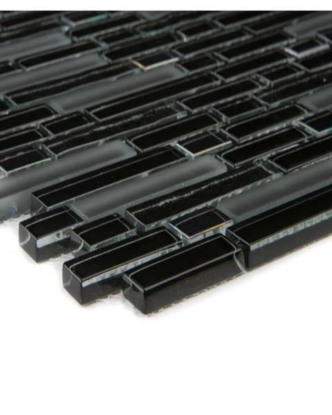 EURO STONE Mozaika black rainbow brick 66414 30,6x31,6x0,8