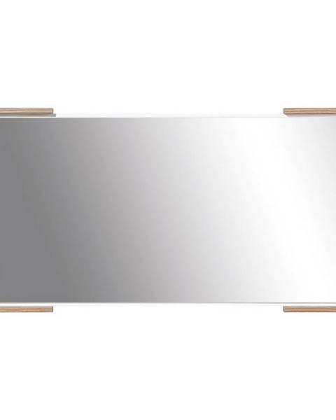 BAUMAX Zrcadlo Morena Bila Lux/Orech Baltimore