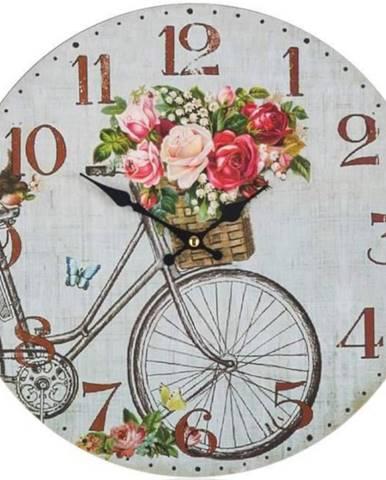 Hodiny nástenné Bicycle 34cm