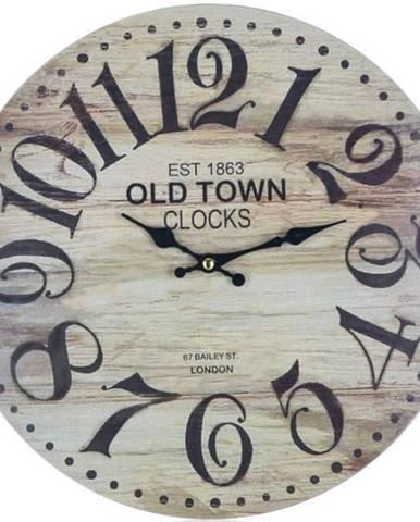 Hodiny nástenné Old Town 34cm