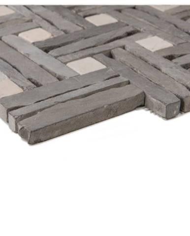 Mozaika slate black/ marble beige 62959 30x30