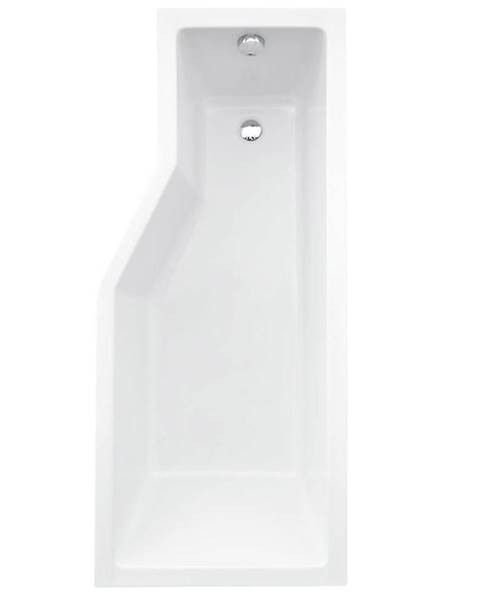 BESCO Koupelnová vana Integra 150/75  P + 2-dílná zástěna