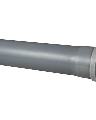 Šedé potrubí 75 x 500 mm