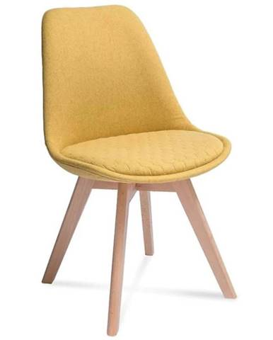 Židle Hugo Hex Žlutá