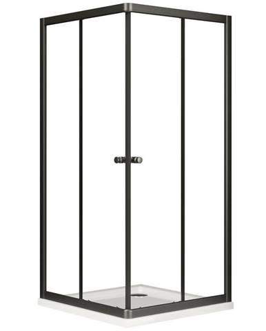 Sprchový kout čtvercový Verona Black 80/80/185