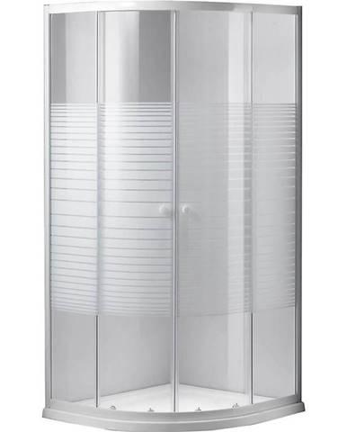 Sprchový kout čtvrtkruhový Mavik 90/90/185 přetisk