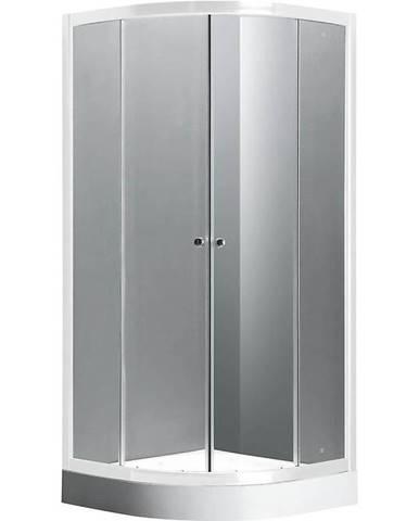 Sprchový kout čtvrtkruhový Simba 90/90/185