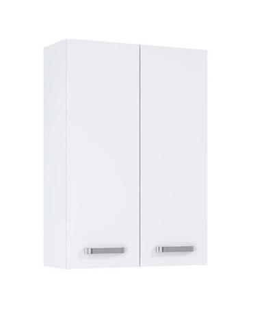 Závěsná skříňka bílá Uno 2D0S 50