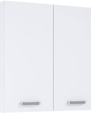 Závěsná skříňka bílá Uno 2D0S 70