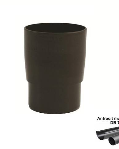 Spojka svodu antracit-metalic 53 mm