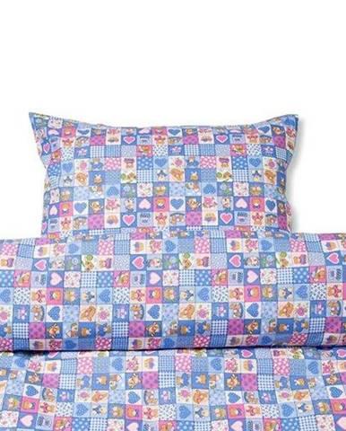 Povlečení dětské bavlna, vzor b 391, 90x140