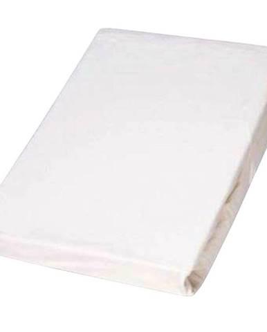 Prostěradlo jersey s pur zátěrem bílé, vz.21, 90x200