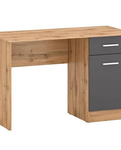 Psací Stůl Stil 120cm Dub Wotan/Grafit