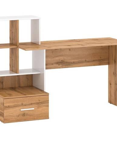 Psací Stůl Stil 149cm Dub Wotan/Bílý