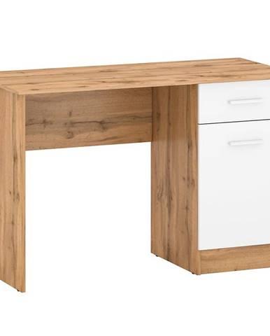 Psací Stůl Stil 2 120cm Dub Wotan/Bílý