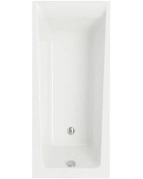 BAUMAX Koupelnová vana Lorena rovná 170/70 + rám