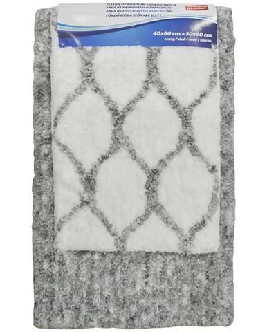 Sada koberečků Grey 50x80+ 40x60cm