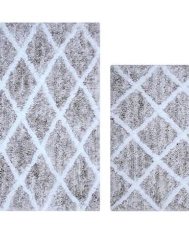 Sada koberečků Grey 50x80cm a 40x60cm