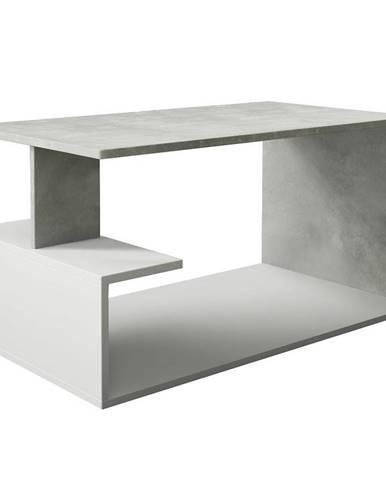 Konferenční stolek Dante Beton/Bílý