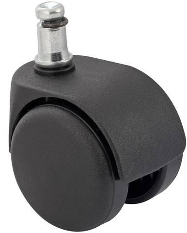 Kolečko pro židle o 50 mm, stop/go, pro měkké podlahy