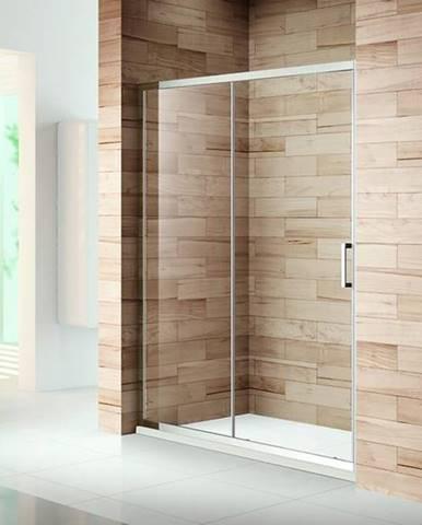 Sprchové Dvere Patio 160x195 Čiré-Chrom