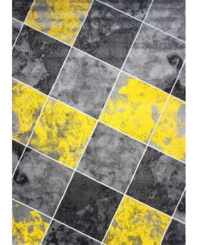 Koberec Frisee Soft 1,33/1,9 6580A Yellow