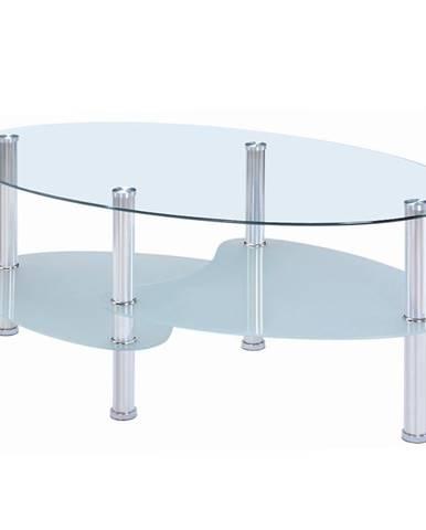 Konferenční Stolek Zeus 198cm Sklo