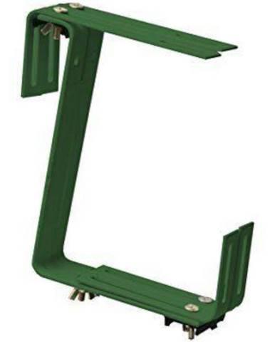 Držák na truhlík zelený 19x17 cm