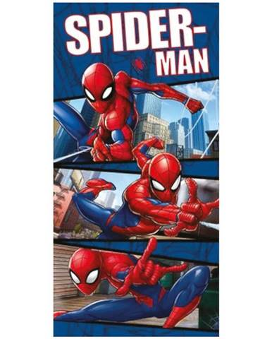 Osuška dětská 70x140 Spiderman blue 02