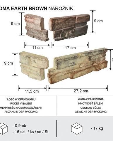 ROHOVÝ KÁMEN ROMA EARTH  BAL=0,9mb