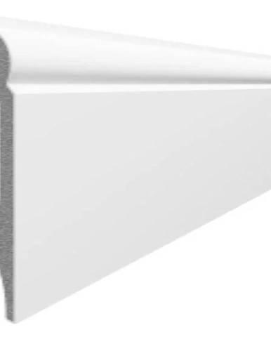 Podlahová lišta Espumo ESP 301 bílá