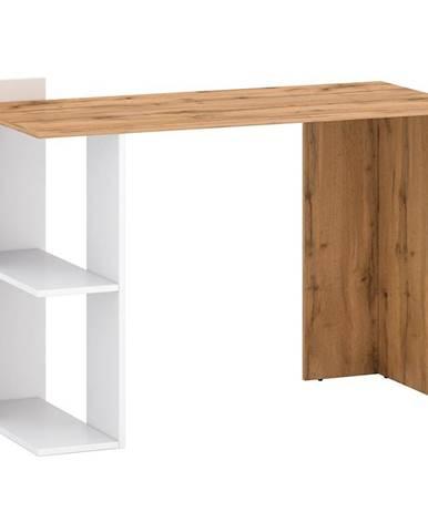 Psací Stůl Stil 1 122cm Dub Wotan/Bílý