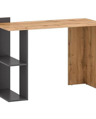 Psací Stůl Stil 1 122cm Dub Wotan/Grafit