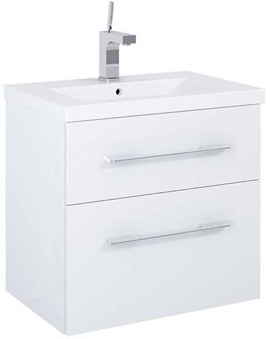 Skříňka s umyvadlem bílá Amoria 0D2S 60