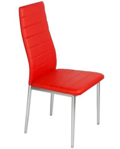 Židle Kris červená tc-1002
