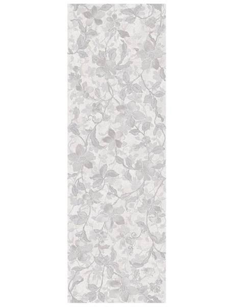 EMIGRES Nástěnný obklad Floral blanco rekt. 30/90