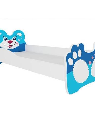 Dětská Postel Bear 160cm Modry